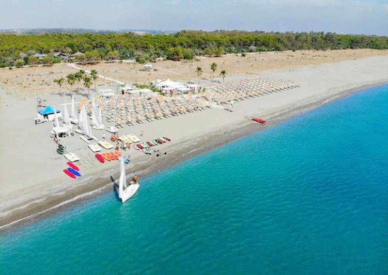Reserved Private Beach of Nova Siri image